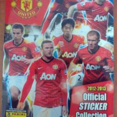 Album stickere Manchester United (sezon 2012-2013) - Carte personalizata