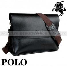Geanta Barbati Polo Sport, Geanta tip postas, Piele - POLO - geanta de umar