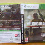 The Walking Dead: Survival Instinct  (Xbox 360)  (ALVio) + sute de alte jocuri ( VAND / SCHIMB )