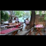 Mobila terasa gradina - Mese cu banci din lemn pentru terasa