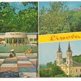 #carte postala(marca fixa)-LIPOVA-colaj