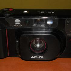 Aparat de Colectie - AuX: Aparat foto cu film, de colectie, vechi din anii '90, marca MINLOTA AF-DL Japan, posibil functional!