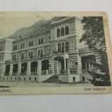 CP1-ilustrata BAILE HERCULANE''Hotel Ferdinand'', circulata - Carti Postale Romania dupa 1918