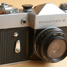 Aparat Zenit B cu M42 Industar 50-2 50mm f 1:3, 5 filtru UV - varianta export - Aparat Foto cu Film Zenit