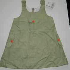 Sarafan de vara rochita pentru fetite, marimea 86, pentru 2 ani, nou cu eticheta!, Verde