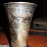 Metal/Fonta, Vase - Cupa metalica - patina deosebita