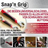 SET 2 CHEI SNAP N GRIP TV ! CHEIA universala pentru orice surub, instalatii, etc... - Cheie mecanica