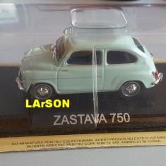Macheta auto, 1:43 - Macheta metal DeAgostini Zastava 750 SIGILATA+revista Masini de Legenda 54