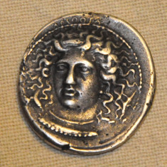 Moneda Tetradrahmă 405 B.C. Sicily-Syracuza - Moneda Antica, Europa