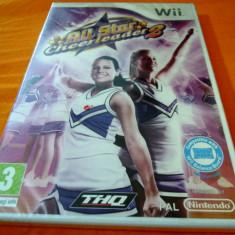 Jocuri WII Thq, Sporturi, 3+, Single player - Joc All Star Cheerleader 2, Wii, original si sigilat, 39.99 lei(gamestore)!