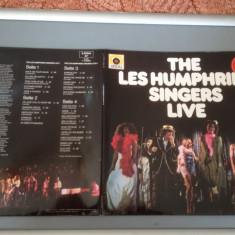 THE LES HUMPHRIES SINGERS - LIVE -2LP SETBOX- (1975/ DECCA REC/RFG) - DISC VINIL - Muzica Rock decca classics