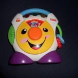 Jucarie interactiva, Altele, Unisex, Multicolor, Plastic - CD Player Fisher price - romana