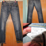Pantaloni Blugi Jeans G-Star Gstar Raw Marime 27 Albastru - Blugi barbati, Lungi, Normal