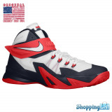 Nike LeBron Zoom Soldier VIII | 100% originali | Livrare cca 10 zile lucratoare | Plata 3 rate fara dobanda | Aducem pe comanda orice produs din SUA - Adidasi barbati