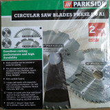 Set 2 discuri pentru fierastrau circular electric - NOU - Masina de taiat