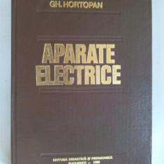 Aparate electrice - Gh. Hortopan - Ed. Didactica si pedagogica Bucuresti 1980 - Carti Electronica