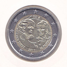 Bancnota Straine, Europa - Moneda Belgia 2 Euro 2011 - KM#308 UNC - necirculata (bimetalica - comemorativa)
