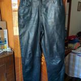 Pantaloni din piele marimea 36,arata ca noi!