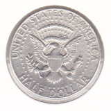 Moneda Statele Unite ale Americii 1/2 Dolar 1964 - KM#202 VF (argint 0, 900), America de Nord