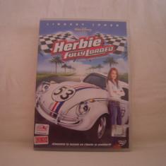Film comedie Altele, DVD, Romana - Vand DVD original-Herbie Fully Loaded-Masina Buclucasa!