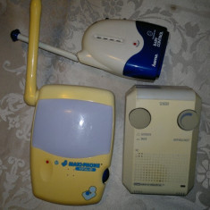 LOT 3X STATII BABY MONITOR HAMA, MAXI PHONE SI ME FUNCTIONALE!