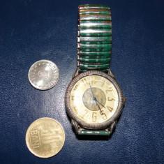 Ceas de mana Sonic Quartz-bratara metalica elastica-functional - Ceas unisex