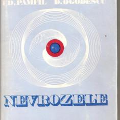 (C5504) NEVROZELE DE EDUARD PAMFIL SI DORU OGODESCU, EDITURA FACLA, 1974 - Carte Neurologie