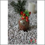Suport flori - Vaza Onix Rotunda