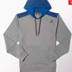 Hanorac original Adidas importat din USA - Hanorac barbati Adidas, Marime: S, L, XL, Culoare: Albastru, Verde, Violet, L, Poliester, Albastru
