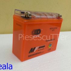 Acumulatori Moto - Baterie / acumulator Moto Scuter / ATV 12v ( volti ) 7A ( amperi ) 12 v 7 A ( GEL ) ( L-14.5 / l-5.8 / H-13 )