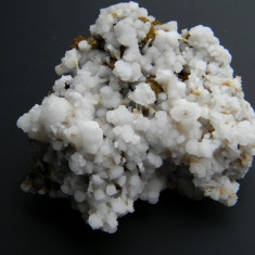 Specimen minerale - ARAGONIT PE SIDERIT - Fosila roca, Naturala, Calcit