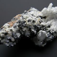 Specimen minerale - CHALCOSTIBIT - Fosila roca, Naturala, Calcit