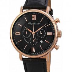 Ceas de lux Engelhardt Raymond Rose Gold Black, original, nou, cu factura si garantie! - Ceas barbatesc Engelhardt, Quartz