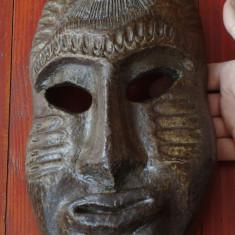 Arta din Africa - Masca deosebita - motiv arta africana - hartie presata !!!!