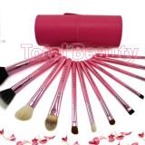 Trusa 12 pensule machiaj profesionale Pink Extravaganza Fraulein38 Germania
