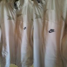 Geaca unisex Nike Air Max - Geaca barbati Nike, Marime: L, Culoare: Alb, L, Alb