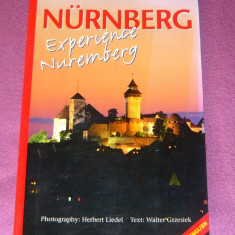 Nurnberg, Germania - ghid turistic si istoric in lb. engleza - album foto - format mare - 90 pag - 2+1 gratis toate produsele la pret fix - RBK4167 - Hobby Ghid de calatorie