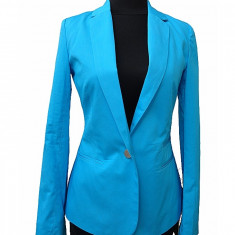 Sacou dama - SOLDARE! Sacou office turquoise, gri, negru, marca Soft Grey, art.SG071