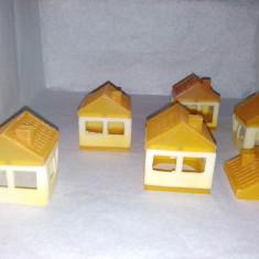 JOC VECHI ROMANESC DIN PLASTIC - TIP LEGO, ANII '80 - Jocuri Seturi constructie