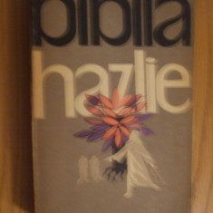 BIBLIA HAZLIE -- L. Taxil -- 1962, 551 p.