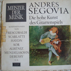 LP Adres Segovia ( vinyl ) - Muzica Clasica decca classics, VINIL