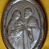 ICOANA foita cu ARGINT- Isus si Sfanta Familie
