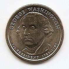 Monede Straine, America de Nord, An: 2007 - Statele Unite (SUA) 1 Dolar 2007 - George Washington) KM-401 aUNC