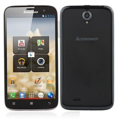 """Lenovo A850 Dual Sim Smartphone 5.5"""" , Quad Core 1.3Ghz, 3G , GPS, WiFi, Android 4.2.2,  In stoc Pret Promotional foto"""