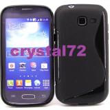Livrare gratuita! Husa termorezistenta silicon - gel TPU pentru Samsung Galaxy Trend Lite S7390 (Samsung Galaxy Fresh) + folie ecran + laveta