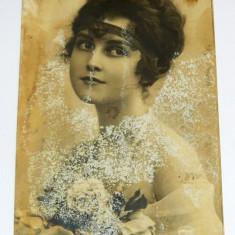 Carte postala - ARTA - Bust de femeie - necirculata anii 1910-1920 -  2+1 gratis toate produsele la pret fix - RBK4064