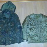 Geaca / jacheta armata primavara / iarna pt copii cu gluga de calitate mar.L