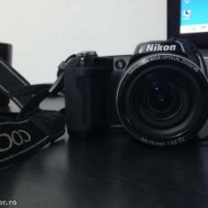 Vand Nikon CoolPix L110 + acumulatori + husa - Husa Aparat Foto