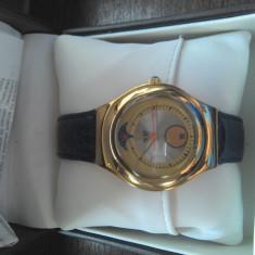 Ceas Swatch Swiss Irony Gold Tone Mens Watch - YCS78CBG - Ceas barbatesc Swatch, Elegant, Mecanic-Automatic, Aur