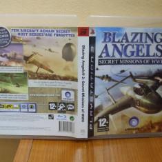 Jocuri PS3 Ubisoft, Simulatoare, 12+ - Blazing Angels 2: Secret Missions of WWII (PS3) (ALVio) (SCHIMB )